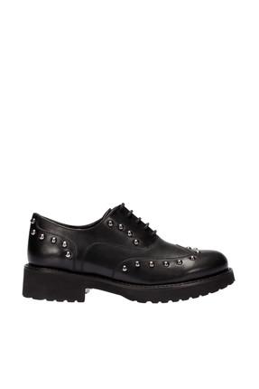 İnci Hakiki Deri Siyah Kadın Ayakkabı 120130003065