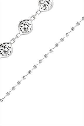 Bella Gloria Kadın 925 Ayar Gümüş Suyolu Bileklik GB00188