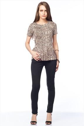 Pitti Kadın Siyah Pantolon 8210.