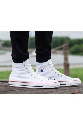 Converse Erkek Beyaz Sneaker M7650c Chuck Taylor All Star Optıcal Whıte Kanvas