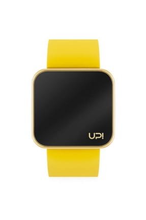 UpWatch Unisex Kol Saati 2UPWS2018410 TOUCH SHINY GOLD AND YELLOW STRAP