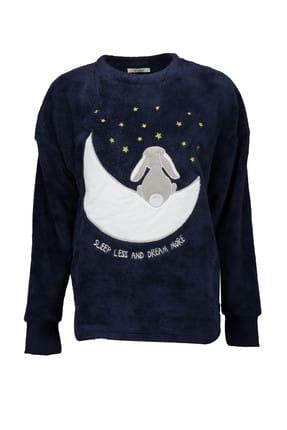 Collezione Kadın Lacivert Pijama Üstü - UCB680032A19