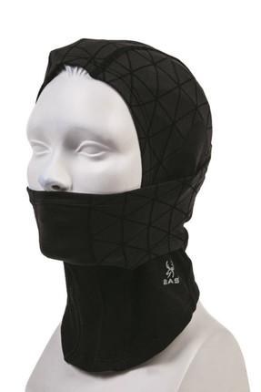 2AS Unisex X Treme Kar Maskesi Siyah
