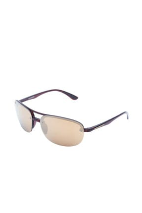 Santa Barbara Polo & Racquet Club Kadın Kahverengi Güneş Gözlüğü UV 8680161609315
