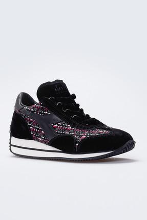 Diadora Equipe Boucle Siyah Kadın Günlük Ayakkabı - 161892-80013