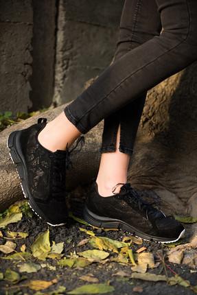 Diadora Symbol Lace Siyah Kadın Günlük Ayakkabı - 161931-80013