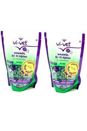 Vi-Vet Vivet Granül Soyulabilir Boncuk Sir Ağda Azulen 250gr 2 Adet