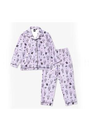 Köstebek Kadın Pembe Tinytan  Pijama Takımı