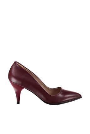 Fox Bordo Kadın Topuklu Ayakkabı A922151109