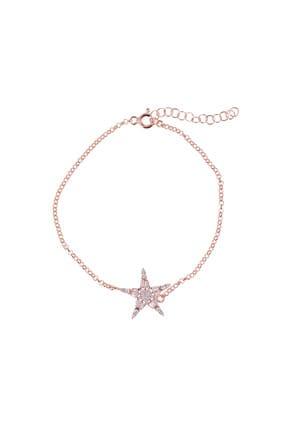 Coquet Kadın Baget Yıldız Gümüş Bileklik 19G9U08C1779