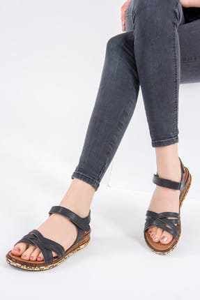 Fox Siyah Kadın Sandalet F288061409
