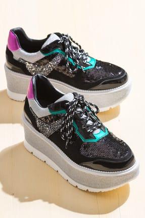 Elle TULARE Siyah Kadın Sneaker