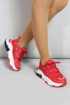 Fast Step 04 Kirmizi Kadın Sneaker Ayakkabı 698za305004