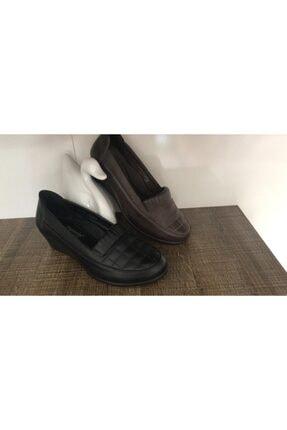 Polaris Kadın Z Ortepedik Dolgu Topuk Rahat Ayakkabısı 155115