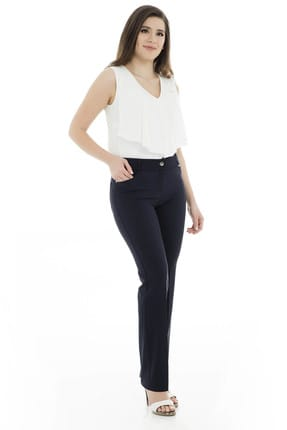 Moda İlgi Kadın Lacivert Pantolon - 1974012