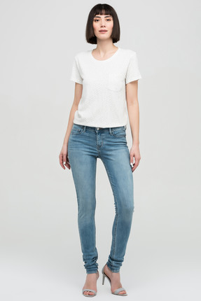 Levi's Kadın 701 Super Siknny Skinny Blue Rhapsody Jean 17780-0028