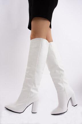 Fox Beyaz Kadın Çizme E922911509
