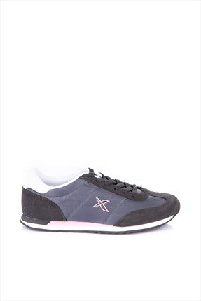 Kinetix 1230076 Koyu Gri Pembe Kadın Sneaker 100163874