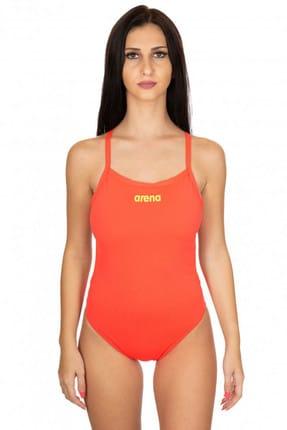 Arena Kadın Yüzücü Mayo - Solid Light Tech - 2A243476