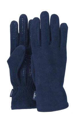 NORDBRON Unisex Lacivert Microfleece Gloves Eldiven