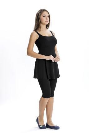 Armes Kadın Taytlı Elbise Mayo Yarım Tesettür 8002
