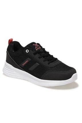 Kinetix Kadın Siyah Tasco Mesh Spor Ayakkabı Ortopedik Comfort System