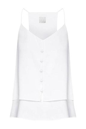 W Collection Kadın Çift Katlı Askılı Bluz