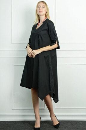 Herry Kadın Siyah Uzun Elbise