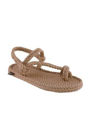 NOMADIC REPUBLIC Hawaii Kadın Ip Sandalet Bej