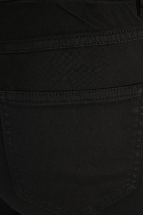 W Collection Kadın Siyah Jean Pantolon