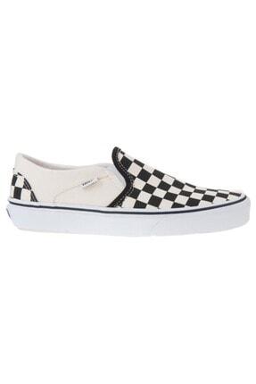 Vans Kadın Siyah Desenli Asher Günlük Ayakkabı Vn000vosapk1