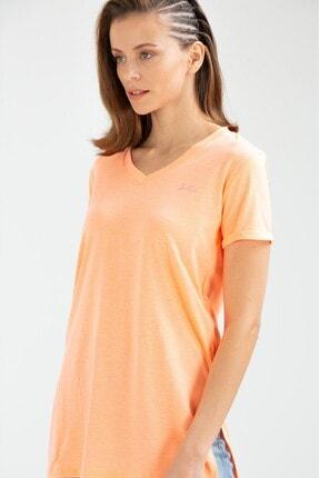 Speedlife Kadın Tişört Precision Yavruağzı