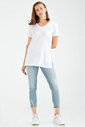 Speedlife Kadın Tişört Precision Beyaz