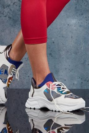 DARK SEER Beyaz Kadın Sneaker DS.PMD252K2018