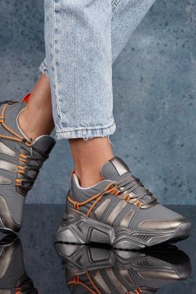 DARK SEER Platin Kadın Sneaker DS.PMD252K2043