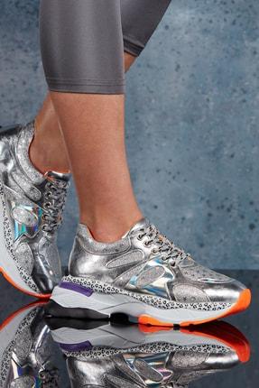 DARK SEER Gümüş Kadın Sneaker DS.MSR922