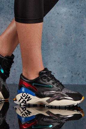 DARK SEER Siyah Kadın Sneaker DS.MKA3435