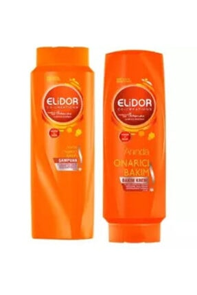 Elidor Anında Onarıcı Bakım Şampuan Ve Bakım Kremi