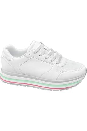 Graceland Deichmann Graceland Kadın Beyaz Sneaker