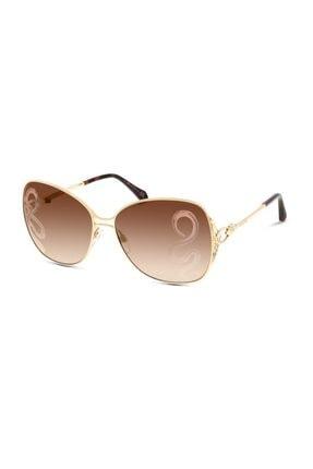 Roberto Cavalli Kadın Kahverengi Güneş Gözlüğü Rc1060 32g 61-15