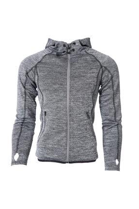 Sportive Intjacket Women Kadın Gri Günlük Stil Ceket 710211-ant