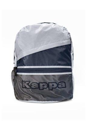 Kappa Unisex Gri Sırt Çantası