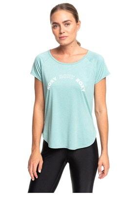 Roxy Kadın Mavi Spor T-Shirt