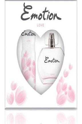 Emotion Love Edt Kadın Parfüm 50 Ml & Deodorant 150 Ml