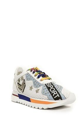 POLETTO Hakiki Deri Sneaker Plt19y-1123 268 Zn
