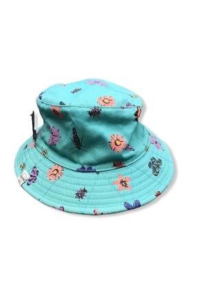Herschel Herschel Şapka Bucket Blue Flowers