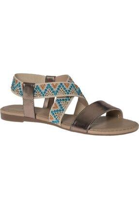 Graceland Deichmann Graceland Kadın Bronz Sandalet 12102097