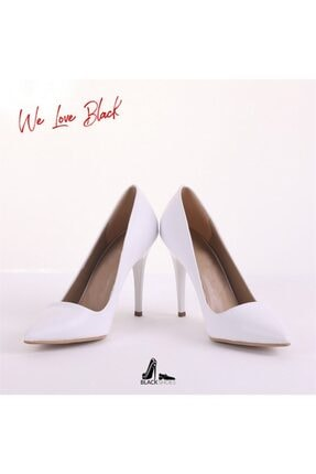 Beyaz Topuklu Ayakkabı MBS1011