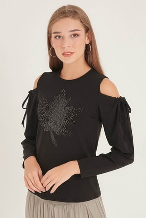 Home Store Kadın Sıyah Bluz 20250220020