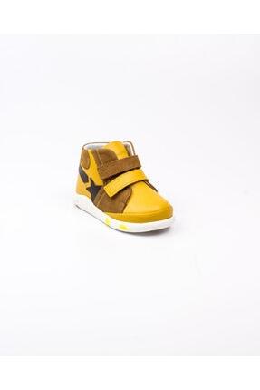 Vicco 915. E20k. 045 Sarı Deri Ilkadım Ayakkabısı(19-21) Sarı-21